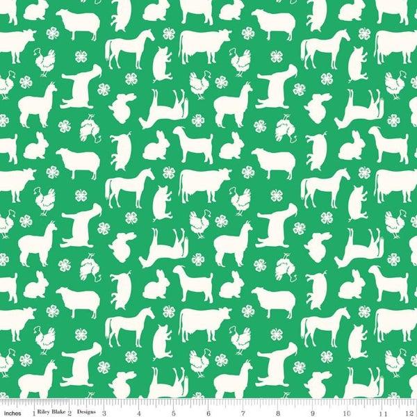 1 yd 4-H Main Green
