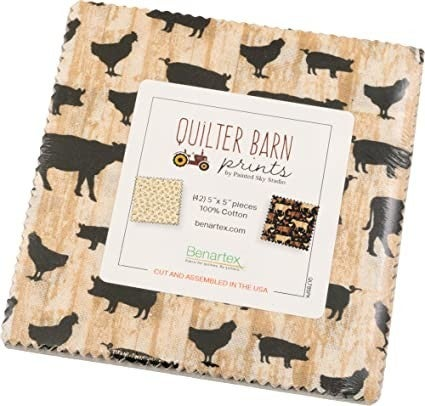 """Quilter Barn 5"""" Squares"""