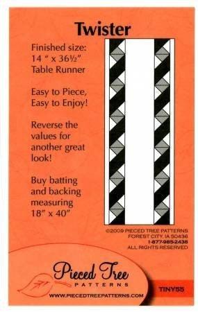 Twister Tablerunner Pattern