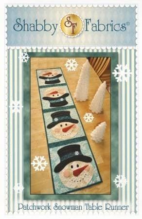 Snowmen January Tablerunner Pattern