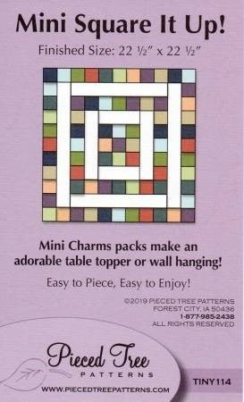 Mini Square it Up Table Topper Pattern