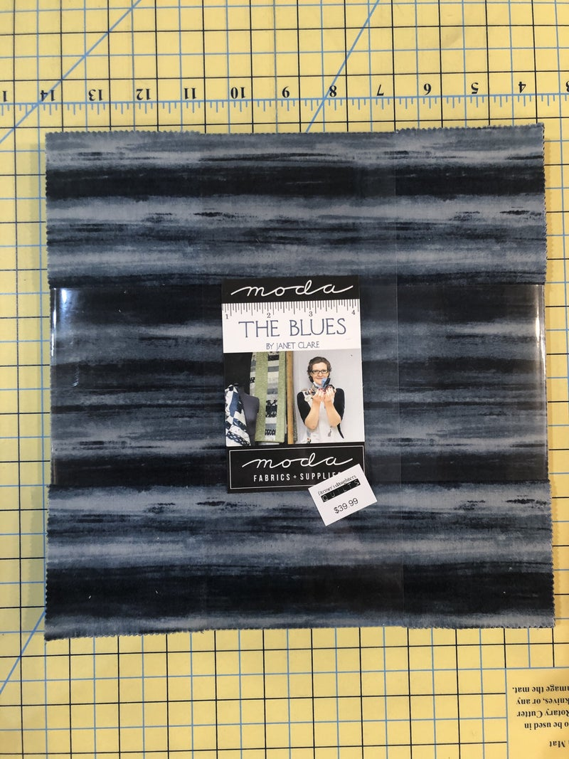 """The Blues Layer Cake 10"""" squares"""
