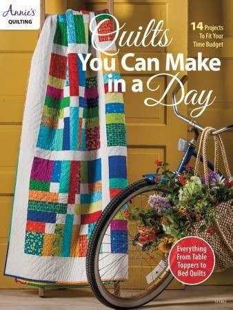 Quilts You Can Make in a Day book