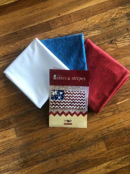 Flag Quilt Kit - 3 color 36 x 66
