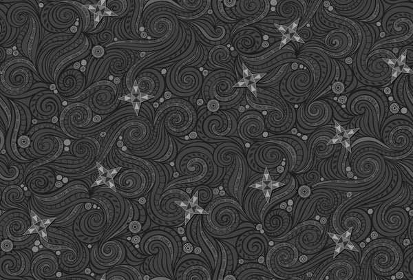 Preorder AISH Spinning Stars - Charcoal