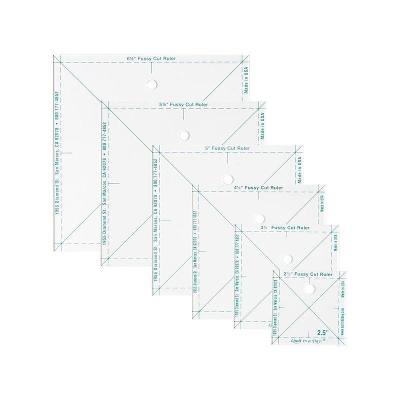 Complete Fussy Cut Ruler Set