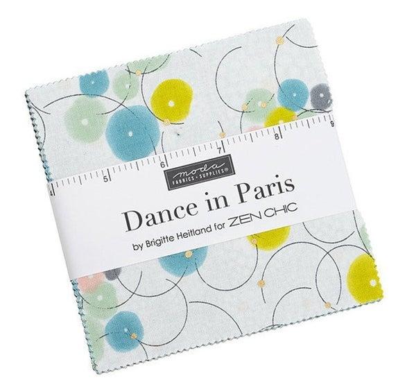 Dance in Paris Charm Pack