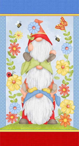 "Gnome Is Where Your Garden Grows 24"" x 42"
