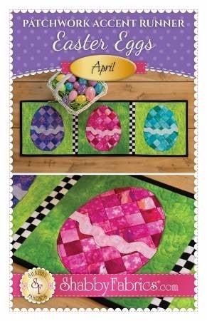 Shabby Fabrics Easter Table Runner Pattern