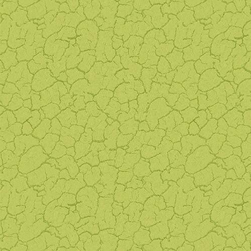 Green Crackle 1 yard cut