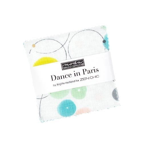 "Dance in Paris Mini Charm Pack (2.5"" squares)"