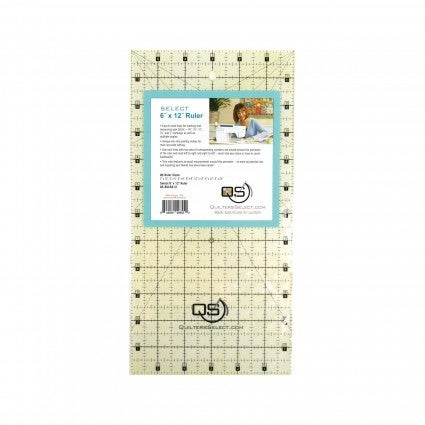 "Quilter's Select Ruler 6"" x 12"""