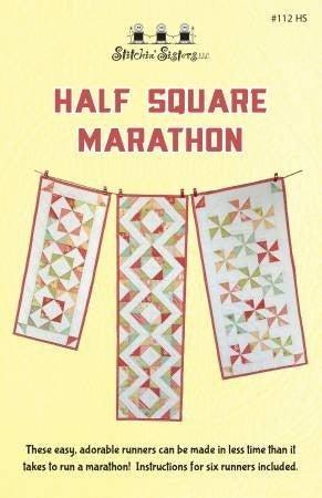 Half Square Marathon Pattern