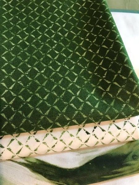 3-yard quilt kit - green