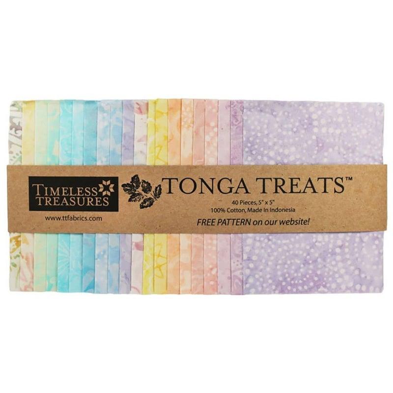 "Tonga 5"" Squares - Buttercream"