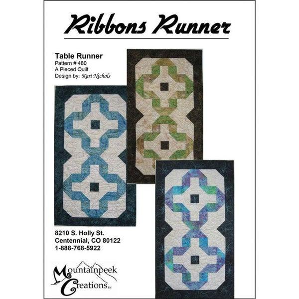 Ribbons Runner Pattern
