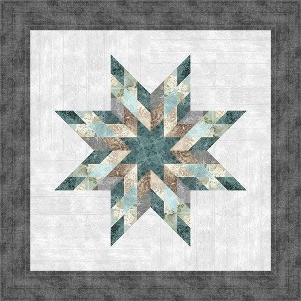 "Farmhouse Star Quilt Kit 40"" x 40"""