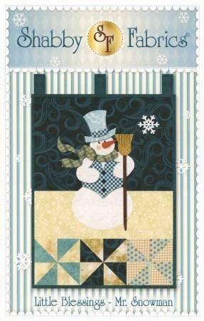 Little Blessings - Mr. Snowman Pattern