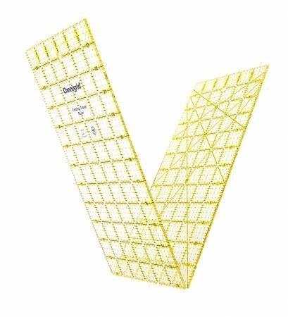 "Foldable Omnigrid 6"" x 24"" ruler"