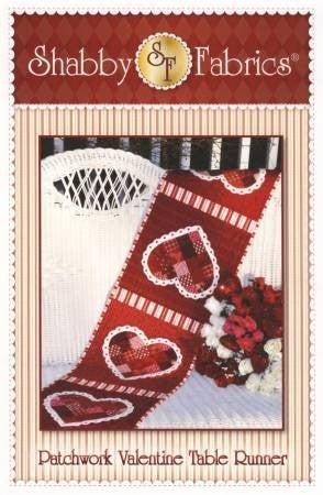 Patchwork Valentine Pattern by Shabby Fabrics