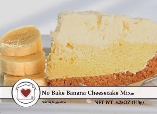 No-Bake Banana Cheesecake