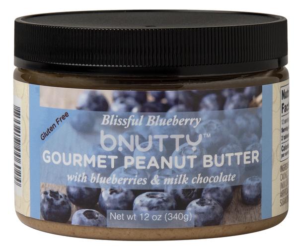 Blissful Blueberry Gourmet Peanut Butter