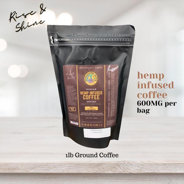 Wholesome Hippie Hemp Infused Coffee 16oz