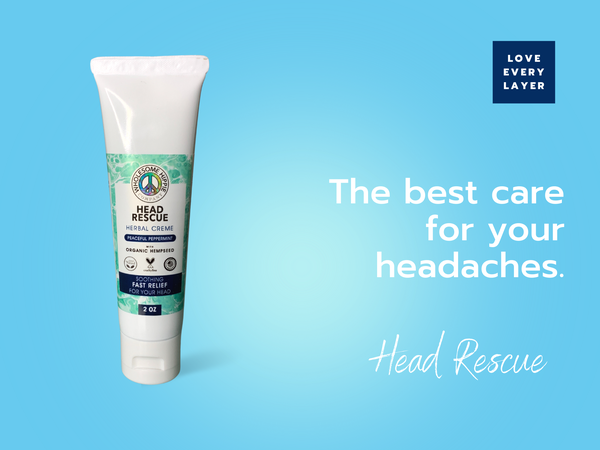 2oz Head Rescue - Peaceful Peppermint