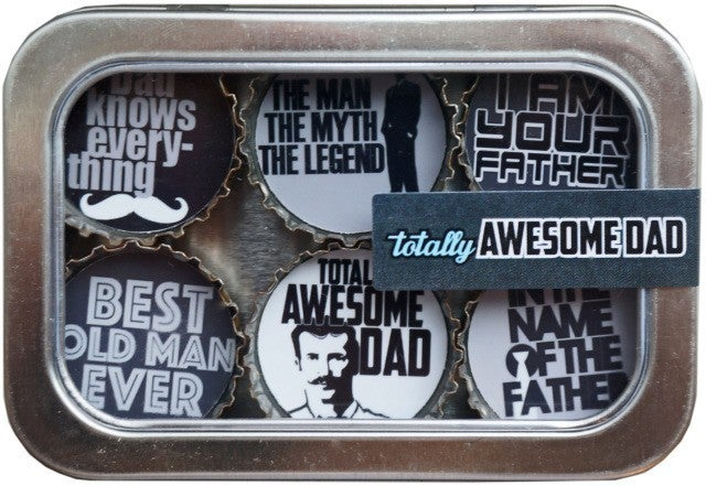 Awesome Dad Magnet - Six Pack