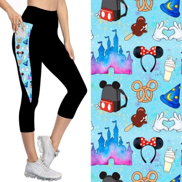 Kids' Capris with Pockets   Happiest Place