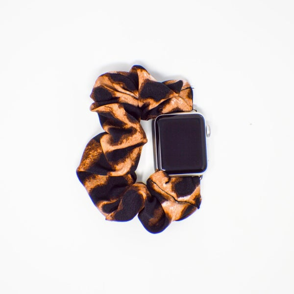 Leopard Scrunchie Apple Watch Band - 38/40mm