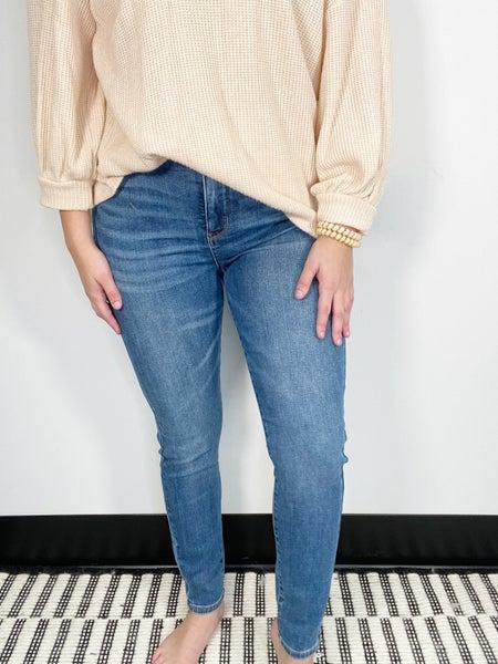 Judy Blue High Waist Medium Wash Control Top Skinny Jeans