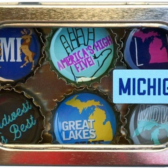 Michigan Magnet - Six Pack