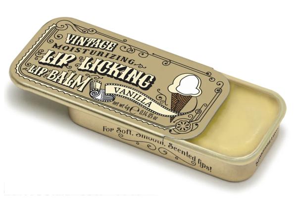 Vintage Lip Balm   Lip Licking Balm • VANILLA