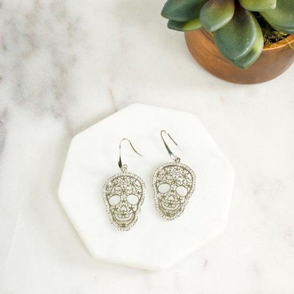 Skyla Skull Earrings