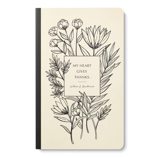 """""""My heart gives thanks…"""" Soft Cover Journal"""