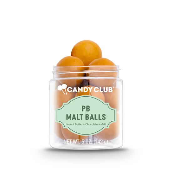 Candy Club | PB Malt Balls