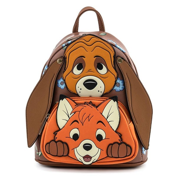 LOUNGEFLY X DISNEY THE FOX AND THE HOUND COSPLAY MINI BACKPACK