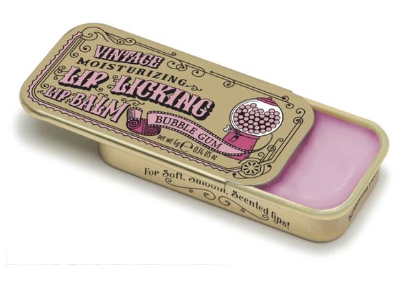 Vintage Lip Balm   Lip Licking Balm • BUBBLE GUM