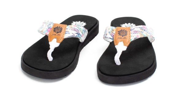 Yellow Box Freesia -  Kids' Flip Flop