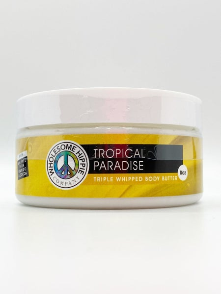 WH 8oz Jar Tropical Paradise Triple Body Butter