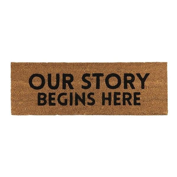 Door Mat - Our Story
