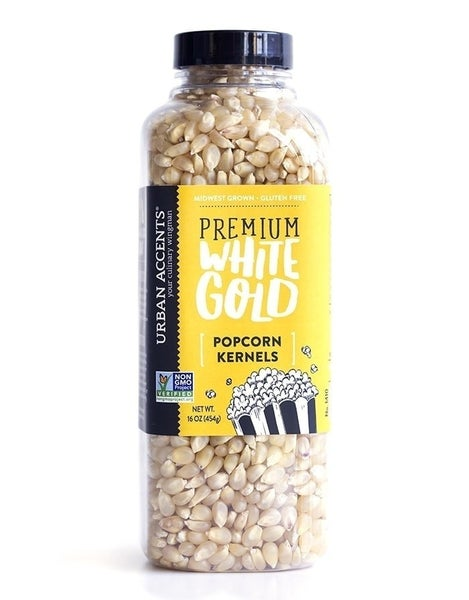Premium White Gold Popcorn
