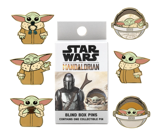 Loungefly  Star Wars Mandalorian Enamel Blind Box Pin