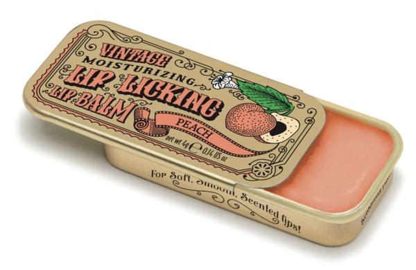 Vintage Lip Balm   Lip Licking Balm • PEACH