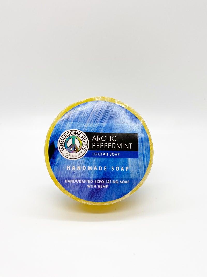 WH 4.5oz Arctic Peppermint Loofah Soap