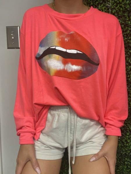 Rainbow Lip Graphic Weekender