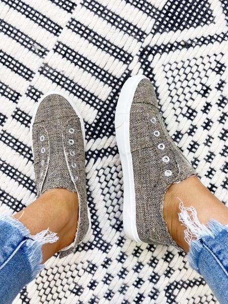 Corkys Babalu Brown Tweed Sneaker