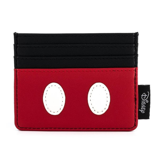 LOUNGEFLY X DISNEY MICKEY MOUSE CLASSIC COSPLAY CARDHOLDER