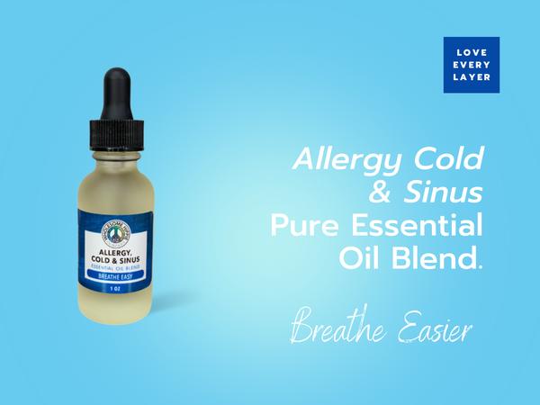 Allergy, Cold & Sinus Essential Oil Respiratory Blend